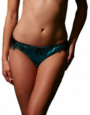 figleaves Womens Tease Silk And Lace Thong