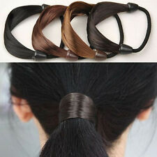 Lot Girls Rope Braid Fashion Holder Wig Hair Band Scrunchie Elastic Women