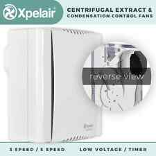 XPELAIR PREMIER CENTRIFUGAL EXTRACT / CONDENSATION CONTROL FANS CF20 / DX200