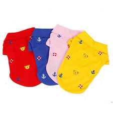 Pet Dog Shirt Clothes Cute Bear Spring Puppy Dog Cat Knitting Polo Shirt Apparel
