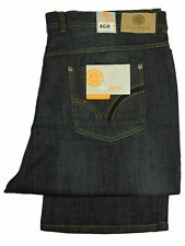 MENS BIG KING SIZE KAM TANK JEANS STRAIGHT LEG RELAXED FIT IN MID BLUE COLOUR