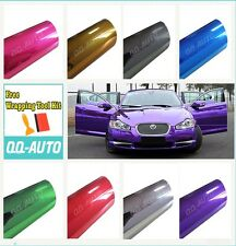 Premium Chrome Mirror Colors Car Vinyl Wrap Sticker Decal Sheet Air Bubble Free