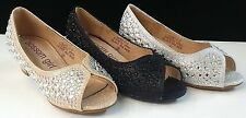 NEW Blossom Girl SuriII5 Rhinestone Glitter Peep Toe Heels Pageant Wedding Shoes