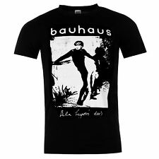 Bauhaus Bela Lugoise Dead Official Band T-Shirt Mens Black Music Top Tee T Shirt