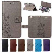 Flip Leather Wallet Cards Slot Stand Case Cover For Apple iPhone 5s SE 6&6s/Plus