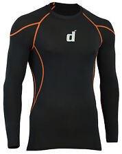Didoo Men's Boys Compression Armor Base Layers Long Sleeve Tops Tight Fit Shirts