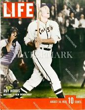 BN395 Roy Hobbs Life Magizine Cover Natural Movie 8x10 11x14 Colorized Photo
