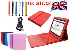 Smart Leather Case Cover Set for Bluetooth Wireless Keyboard for iPad Air 1 2