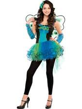 Teen Kids Peacock Diva Girls New Fancy Tutu Dress Costume Party Outfit 10-16 Yrs