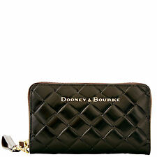 Dooney & Bourke City Woven Large Zip Around Phone Wristlet