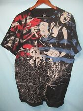 NWT Rock & Republic Stars and Stripes Rock and Roll Black Graphic Tee Shirt