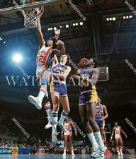 BN826 Julius Erving Nets ABA Game Action Basketball 8x10 11x14 Photo