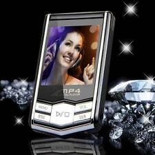 4/8/16GB Slim MP3/MP4 Music Player With 1.8'' LCD Screen FM Radio Video Games