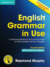 Cambridge ENGLISH GRAMMAR IN USE w Answers & Online FOURTH Edition R Murphy @NEW