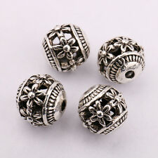 10/20Pcs Tibetan Silver Charms Loose Spacer Beads Making DIY Chains 8 Styles