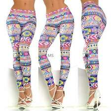 Hot Sexy Lady Pattern Print Women Stretch Tights Pencil Skinny Pants Jeggings