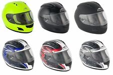 Stealth Motorcycle Scooter Bike Slayer Full Face HD118 Road Racing Helmet