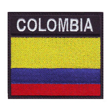 COLOMBIA BADGE FLAG EMBROIDERED PATCH