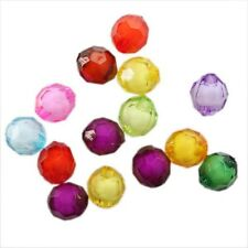 150/750/80/400pcs Hotsale Mixed Colorful Ball Round Charms Spacer Acrylic Beads