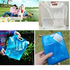 Outdoor Camping Hiking Picnic BBQ Folding Drinking Water Storage Lifting Bag 10L