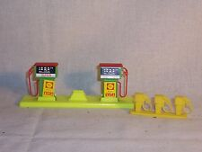 Vintage Auto Shell Service Gas Station Gasoline Fuel Pump Toy Play Set