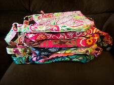 VERA BRADLEY LISA B HANDBAG PURSE RHAPSODY BLUSH CALYPSO LOVES ME CARNABY & MORE