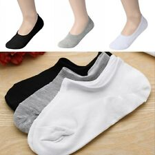 Unisex Loafer Boat Non-Slip Invisible No Show Nonslip Liner Low Cut Cotton Socks