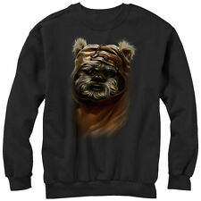 Star Wars Wicket Ewok Mens Graphic Sweatshirt