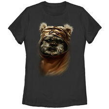 Star Wars Wicket Ewok Womens Graphic T Shirt