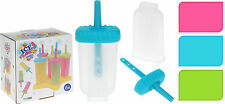 Tray of 6 Ice Pop Lolly Lollies Pop Mould Ice Lolly Maker Ice Cream Sweet