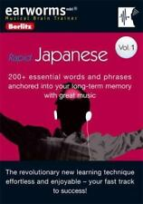 CD - RAPID JAPANESE  V1 - 200+ Essential words/phrases anchored long term memory