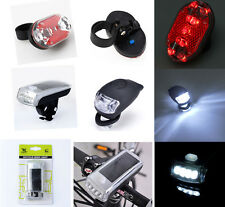 Cycle Bicycle Bike Knog Light Head Rear Tail Led Flash Lamp Torch Kit Accessory