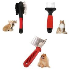 Dog Cat Pet Professional Hair Shedding Grooming Brush Comb Easy Home Use 3 Types