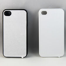 10 Blank iPhone 4 4s Plastic Sublimation Cases Fast Free Shipping