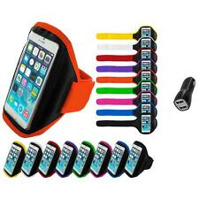 For Apple iPhone 6 (4.7) Gym Sport Running Armband Case Cover 2.1A Charger