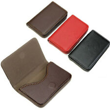Fashion Business & ID Credit Card Cases Faux Pocket Leather Holder Case Wallet