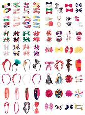 Gymboree Girls Headbands Clips Pony Holders Bows Barrettes One Size New NWT