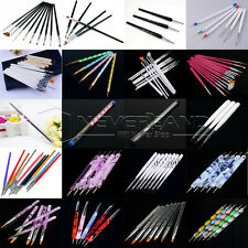 2017 New 23 Various Nail Art Design Painting Dotting Pen Brushes Bundle Tool Kit