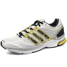 Mens Big Sizes Adidas Supernova Sequence 4M White/Gold Trainers Shoes