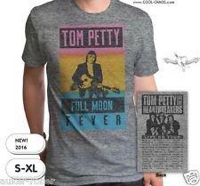 Tom Petty & The Heartbreakers T-shirt/Tom Petty Tour Tee-Full Moon Fever-Reissue