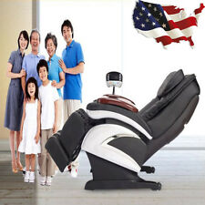 Electronic Full Body Shiatsu Massage Chair Recliner w/ Heat Stretched Foot Rest