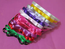 Childs Girls ribbon bow Headband Hair Band bow Hair Accessories AN9