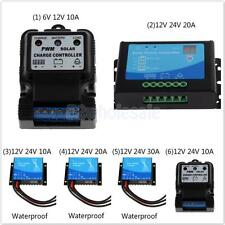 Waterproof Auto Switch PWM Solar Panel Cell Battery Regulator Charge Controller