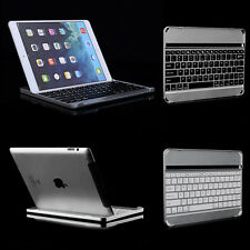 Aluminum Metal Wireless Bluetooth Keyboard Stand Case Cover Dock For iPad Air 2