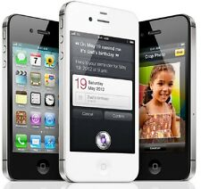 "Apple iPhone 4S 8GB 16GB 32 64 GSM ""Factory Unlocked"" Smartphone Black / White"