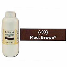 Eco-Flo Professional Waterstain Medium Brown 33.8 oz. (1L) 2801-03
