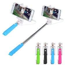 For Samsung iPhone for Huawei Sony Mini Handheld Selfie Stick Monopod Camera