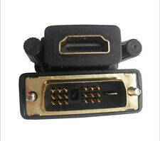 Gold Plated HDMI Female Plug To DVI Male Socket Adapter Converter