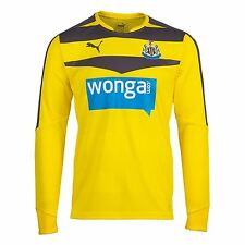 Puma Newcastle United Home Jersey 2015 2016 Goalkeeper Mens Yellow Football