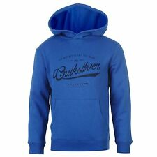Quiksilver Crime Wave Ribbed Hoody Juniors Kids Blue Top Sweater Jumper